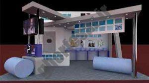 یک نمونه غرفه سازی در نمایشگاه نفت سال 88